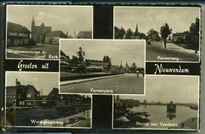Verzamelkaart Wognumerstraat Purmerweg Watergangseweg Veer