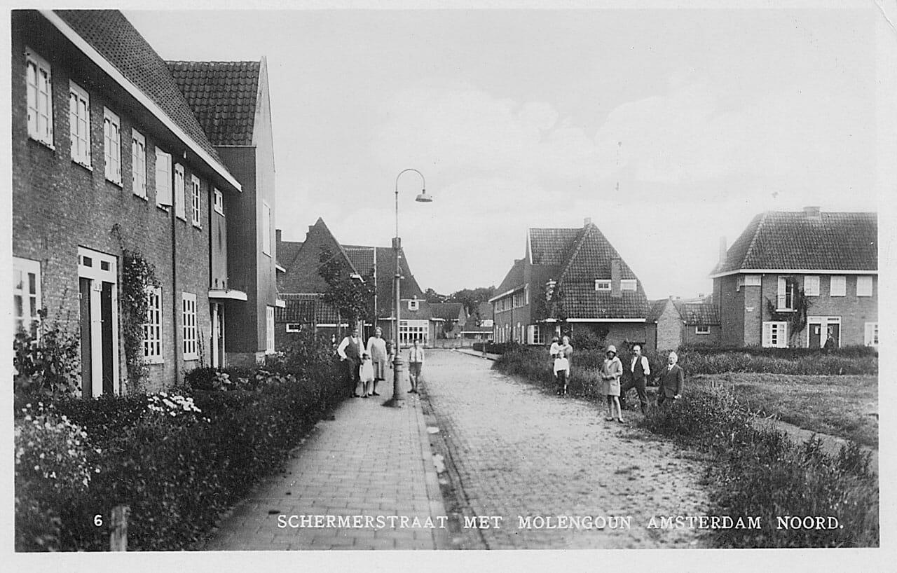 Nieuwendam Schermerstraat Met Molengouw