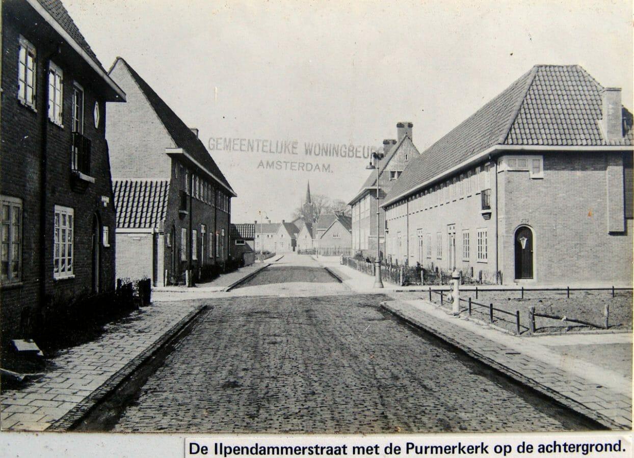 Ilperdammerstraat Richting Purmerweg Met Rechts De Purmerschool