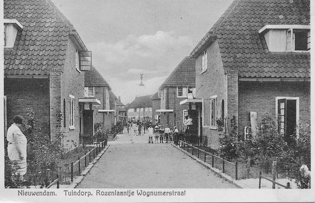 Nieuwendam Wognumerstraat Rozenlaantje