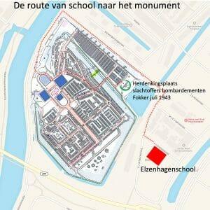 Route Naar Het Monument