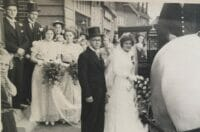 Huwelijk Truus en Jacob op 31 juli 1945 (Ad Fraanje)